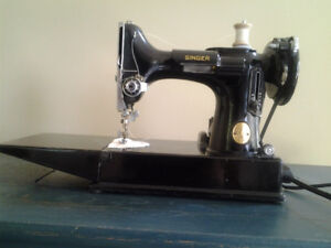Singer 221 Featherweight/Singer 301a sewing machines