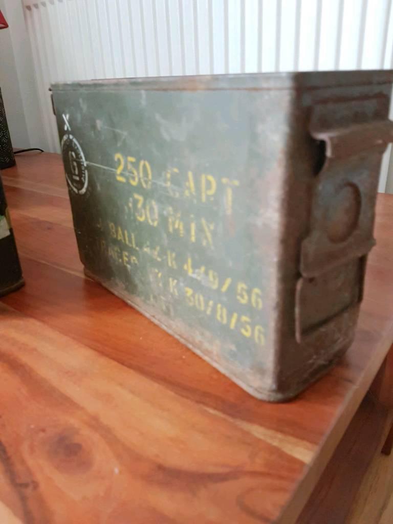 Army Ammunitions Boxesin BridgendGumtree - Army Ammunitions Boxes £8 each or £20 for all three