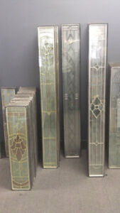 ***STAINED GLASS DOOR INSERTS***CLEARANCE SALE