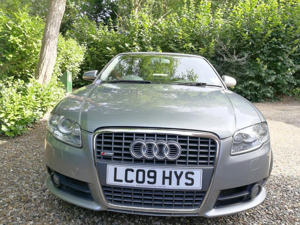 Audi A4 Cabriolet 2.0 TDI Special Edition S line