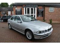 BMW 5 SERIES 3.0 530D 4d AUTO 191 BHP XENON LIGHTS / LEATHER IN (silver) 2000