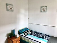 room to let within friendly house share for £75pw most bills inclusive of rent.