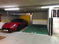 Heated GARAGE, remote controlled entrance in CHELSEA LONDON.
