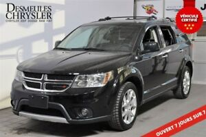 2016 Dodge Journey R/T**CUIR**7 PASS.**SI. CHAUFF