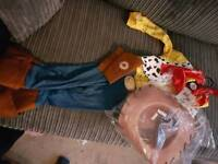 Toy story Woody dress up costume