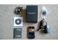 BLACKBERRY CURVE 9300 SMARTPHONE.