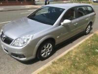 VAUXHALL VECTRA 1.9CDTI ESTATE GREAT LARGE ESTATE DIESEL MANUAL SILVER 2007 MODEL