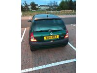 RENAULT CLIO 1.2 *VERY CLEAN* *ALLOYS* NO MOT spares and repairs