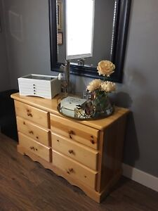 Solid Pine 6-drawer Dresser