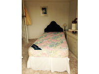 Single bed with matress and spare single matress like new