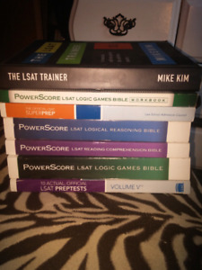 All of the books youll ever need for the LSAT - $600 Original