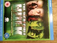 INCREDIBLE HULK BLU-RAY COMPLETE COLLECTION SIGNED BY LOU FERRIGNO