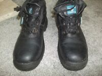 used once size 10,s work boots