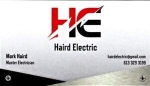 Licensed Electrical Contractor/Master Electrician!