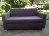 Two seater sofa bed from IKEA - Penarth