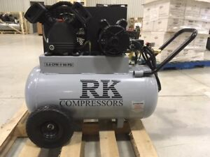 COMPRESSEUR RK À PISTON 3HP 115VOLTS NEUF