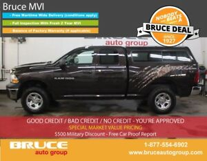 2011 Dodge RAM 1500 ST 4.7L 8 CYL AUTOMATIC 4X4 QUAD CAB SATELLI
