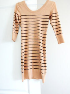 STRIPED SWEATER DRESS $10