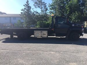 2004 GMC C5500 flatbed with wheel lift NEED GONE