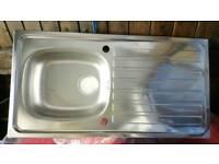 Kitchen reversible sink Brand New