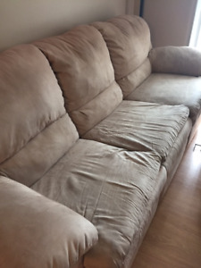 3 seater and single seater recliner couches for sale