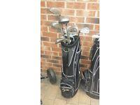Left handed golf clubs,bag