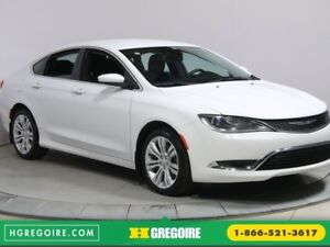 2015 Chrysler 200 LIMITED A/C BLUETOOTH MAGS