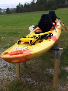 Kayak: Tootega Tandem 12ft Kayak