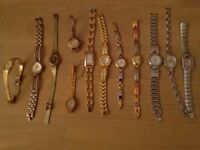 12 watches various makes.