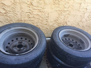 Car Tires In Great Condition For Sale