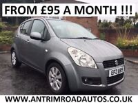 2011 SUZUKI SPLASH 1.2 PETROL ** 49,000 MILES ** FINANCE AVAILABLE ** ALL CARDS ACCEPTED