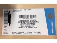 Hot Dub Time Machine 11th August Ingliston