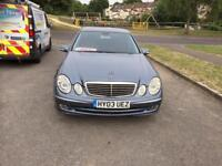 Mercedes-Benz E Class 2.7 E270 CDI Avantgarde 4dr 2key full sv history