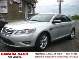 2011 Ford Taurus TIPTRONIC, ROOF/LOADED, 12M.WRTY+SAFETY $8990