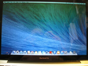 MAC BOOK PRO LAPTOP COMPLETE WORKS A-1 NEW BATTERY
