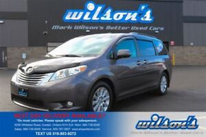 2011 Toyota Sienna LIMITED AWD! 7-PASS! LEATHER! QUAD CAPTAIN CH