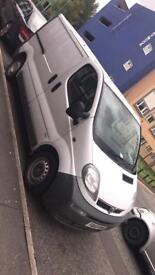 Vauxhall vivaro van 2006 low milage