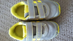 Toddler size 10 Adidas shoes