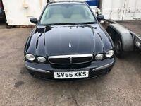 Jaguar x type with lpg ( gas )
