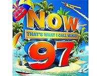 Now 97 brand new cd album delivered