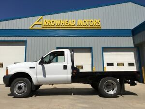 2001 Ford F-450 /service truck / Deck / Cab chassis / V10