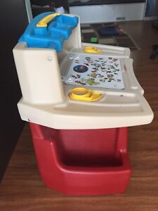 Child's craft desk