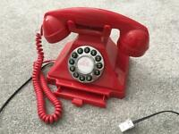 Vintage Style Red Telephone