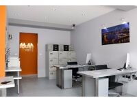 Modern office/desk spaces in great location