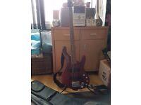 Ibanez ergodyne bass guitar