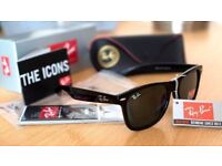 FREE DELIVERY TODAY! RAYBANS WAYFARES BARGAIN SUNGLASSES MENS WOMENS JOBLOT WHOLESALE RAYBAN