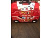 Red Trunki Luggage