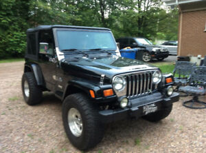 1999 Jeep TJ Coupé (2 portes)