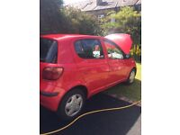 TOYOTA YARIS 1LTR (RED)