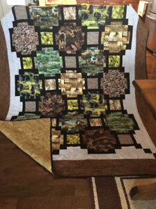 One of a kind Quilt
